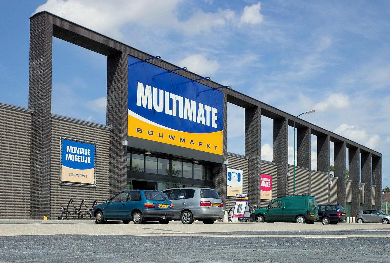 Bouwmarkt Multimate - Kern architecten Roermond Multimate Bouwmarkt