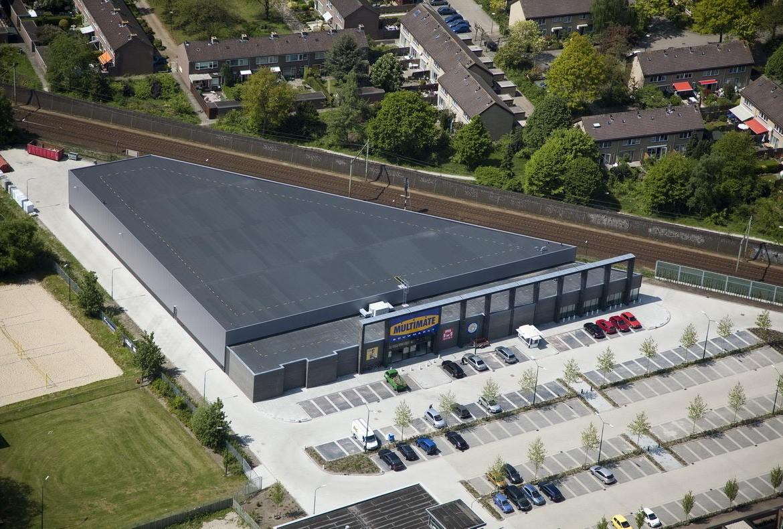 Industrial building 'Multimate' - Kernarchitecten Multimate